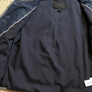 J. Crew Jackets & Coats - Like New! J. Crew Collection Quilted denim jacket